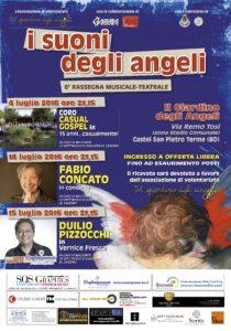 il cartellone di luglio della rassegna i suoni degli angeli 2016